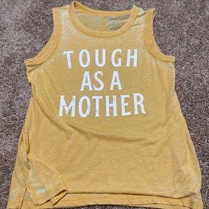 Tough as a Mother tank